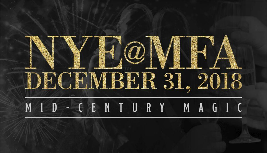 ring in 2019 at nyemfa a premier all inclusive new years eve celebration this years theme is mid century magic inspired by the winter exhibitions at